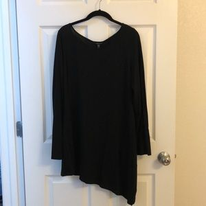 Eileen Fisher black tunic